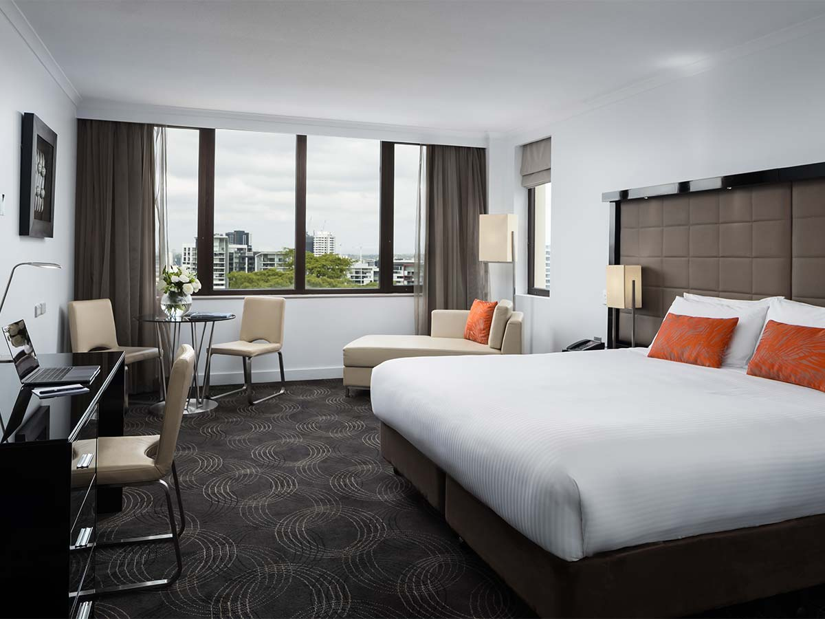 The Park Hotel Brisbane Deluxe King Room