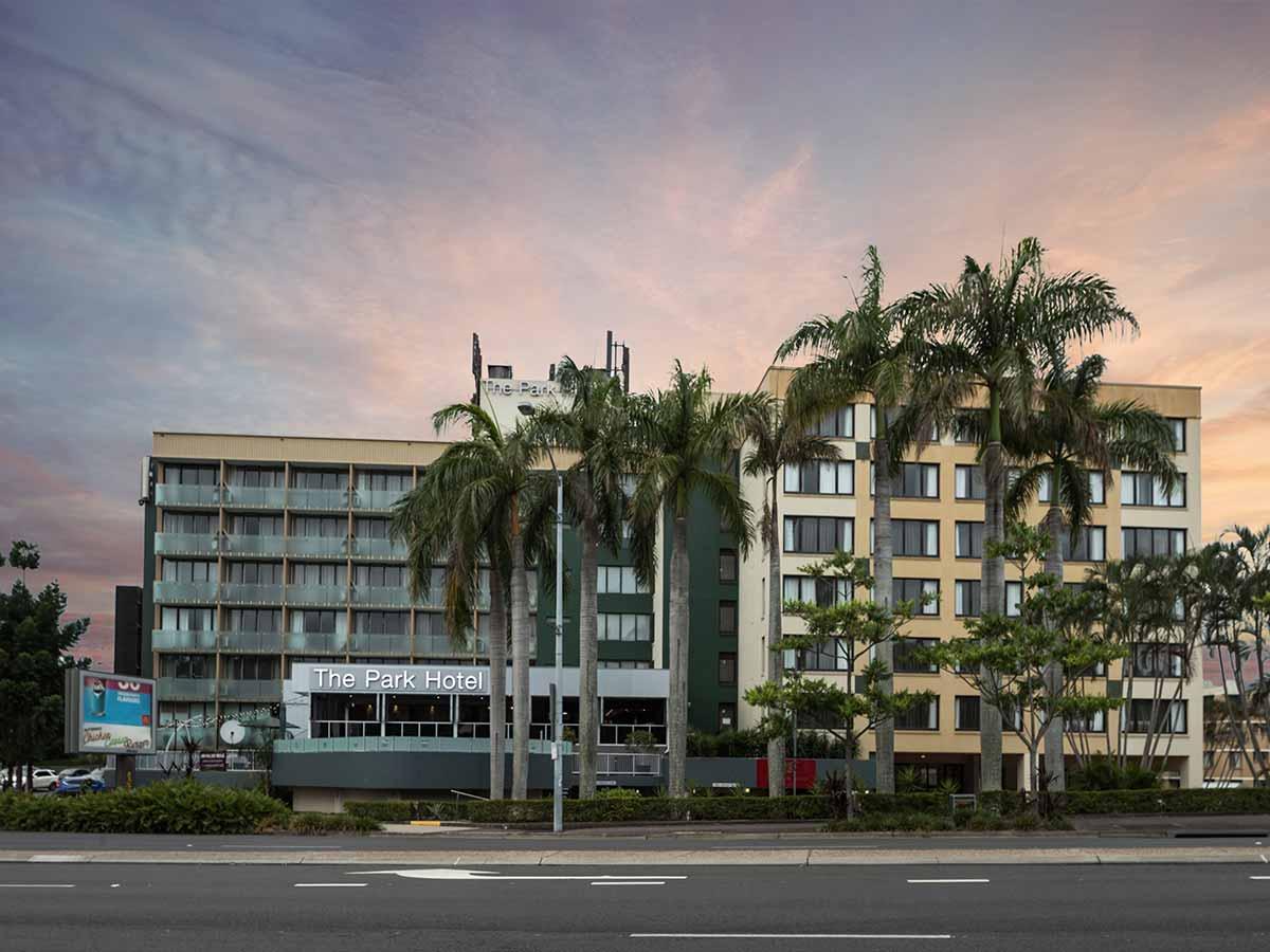 The Park Hotel Brisbane external view