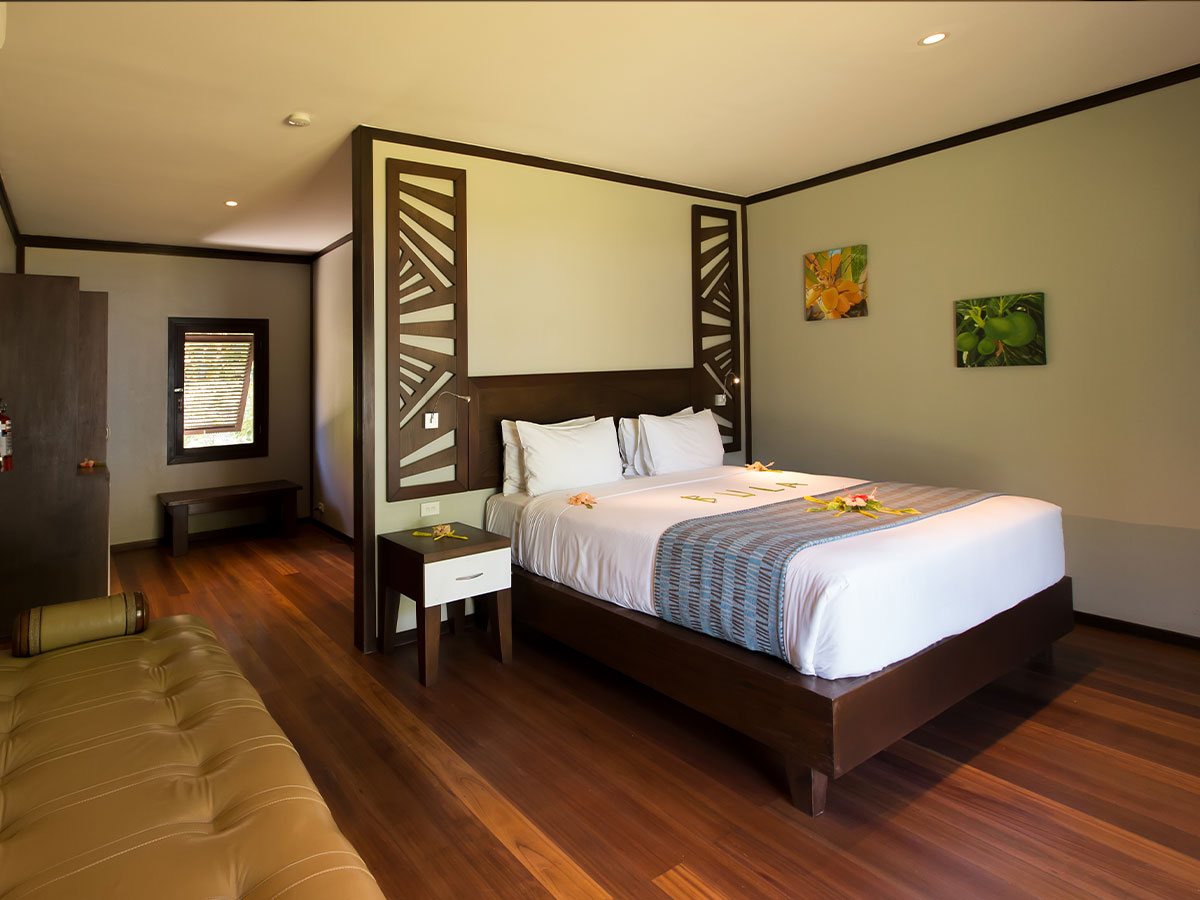 Yatule Resort and Spa deluxe beach front bure