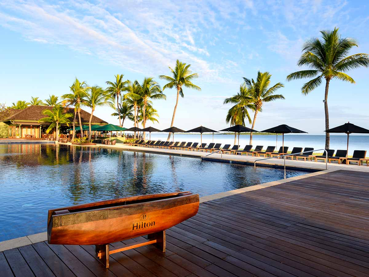 Hilton Fiji Beach Resort Spa outside