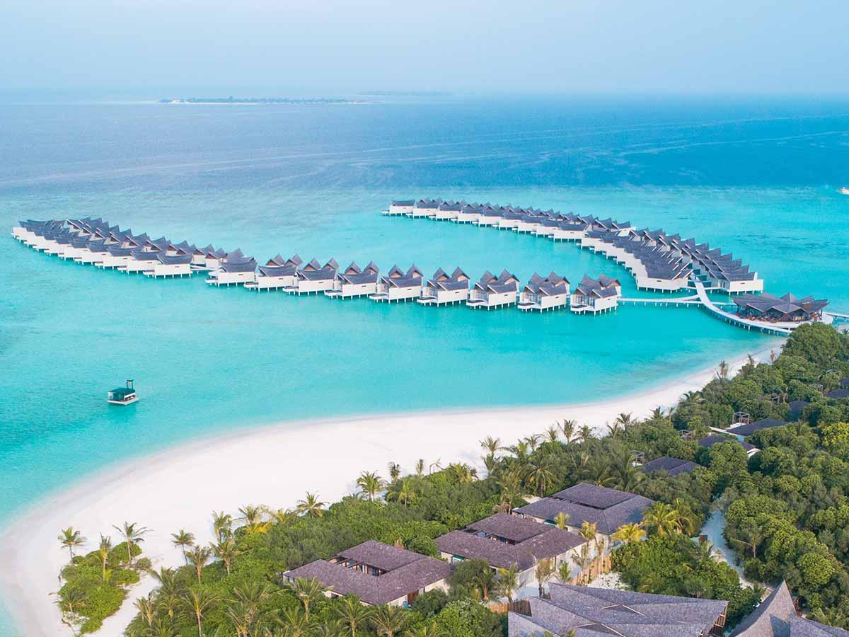 Movenpick Resort Kuredhivaru Maldives aerial