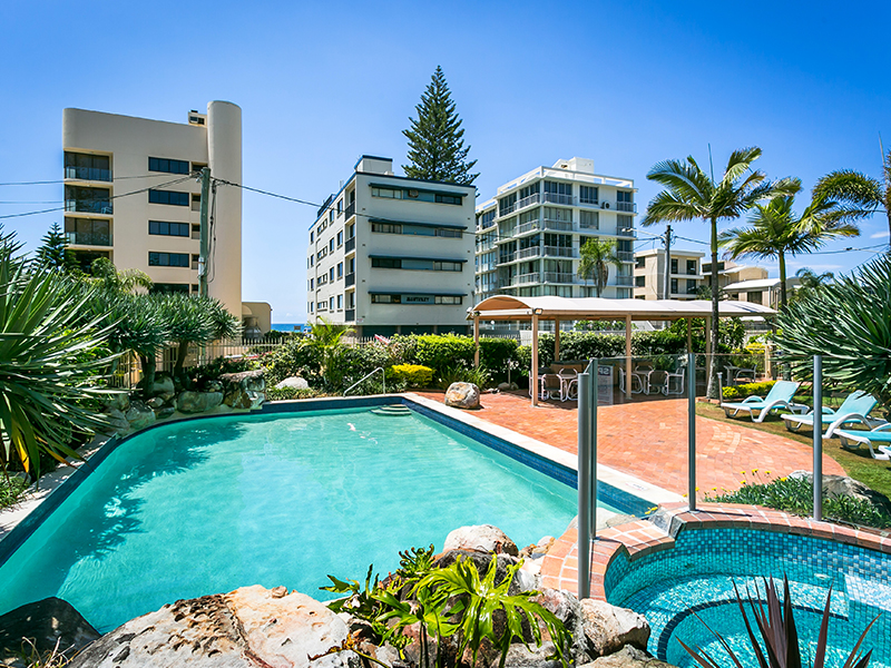 Surfers Beachside Apartments Gold Coast 5 Night Package